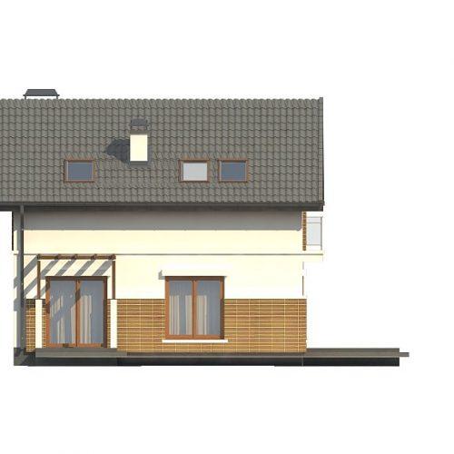 Фасад дома Z248 3