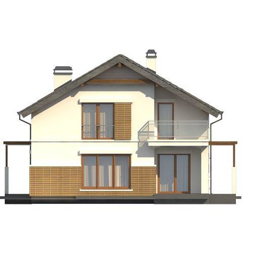 Фасад дома Z248 4