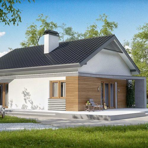 Фото проекта дома Z255 вид 2