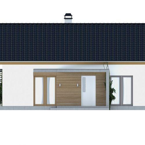 Фасад дома Z255 1