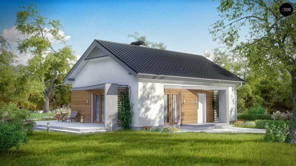 Фото проекта дома Z255 вид с улицы