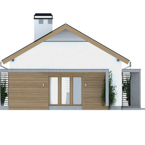Фасад дома Z255 4