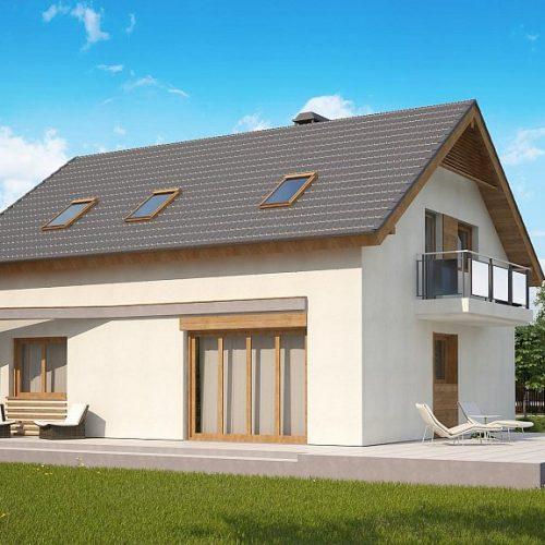 Фото проекта дома Z255 B pc вид 2
