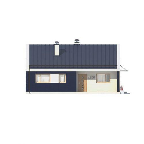 Фасад дома Z256 1