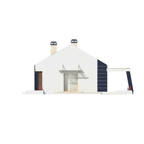 Фасад дома Z256 4