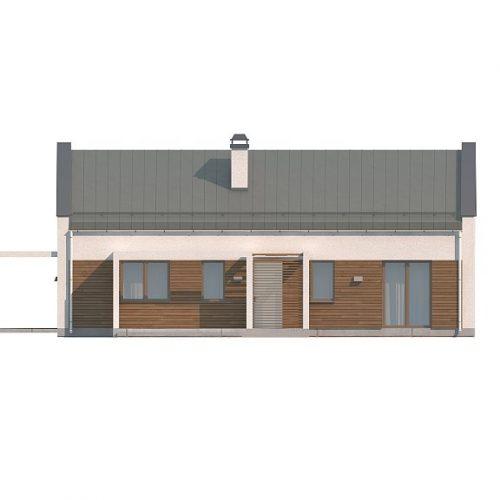 Фасад дома Z258 1