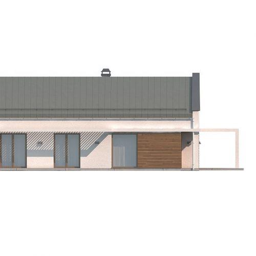 Фасад дома Z258 3