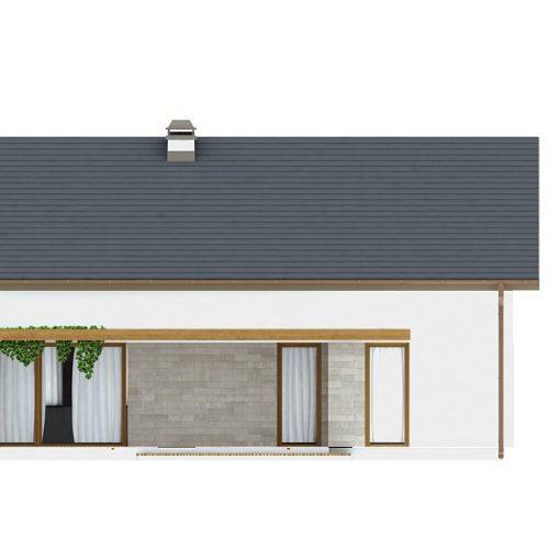 Фасад дома Z261 2