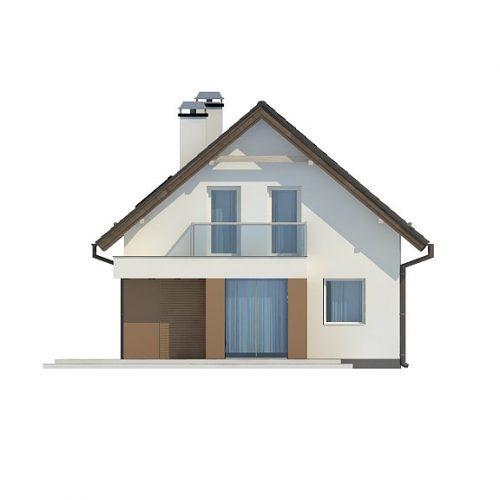 Фасад дома Z265 1