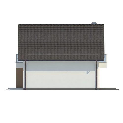 Фасад дома Z265 2