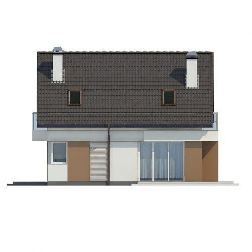 Фасад дома Z265 3