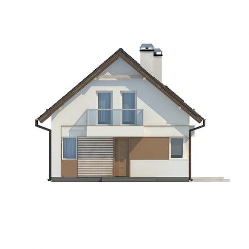 Фасад дома Z265 4