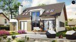 Фото проекта дома Z266 вид с улицы