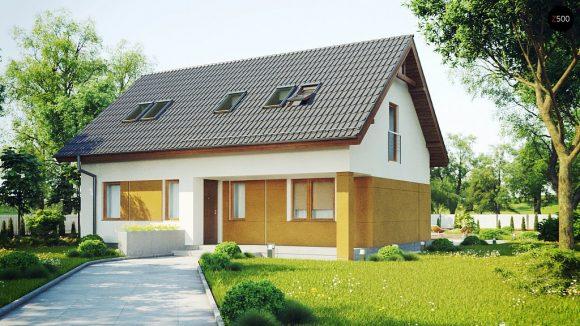 Фото проекта дома Z267 вид с улицы