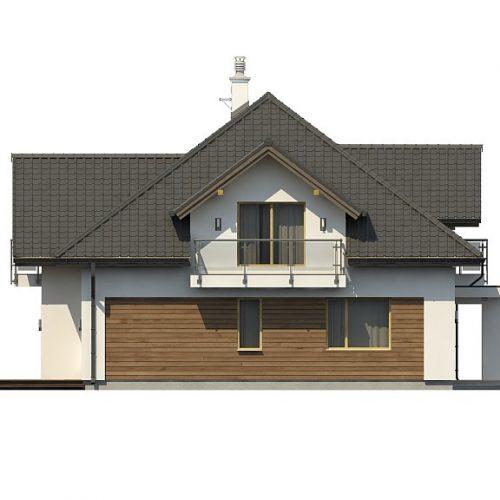 Фасад дома Z272 4