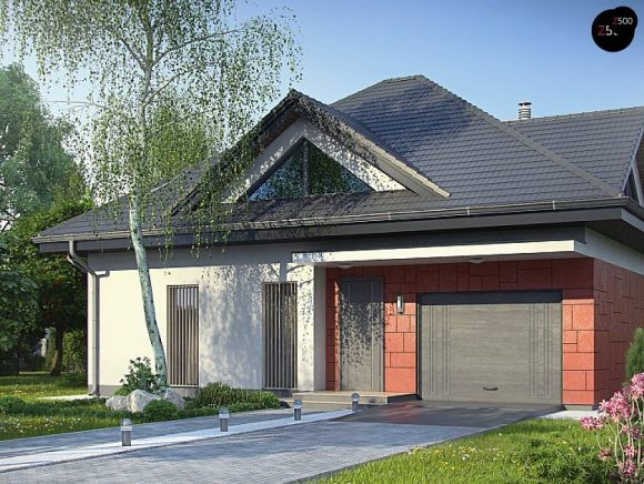 Фото проекта дома Z278 S вид с улицы