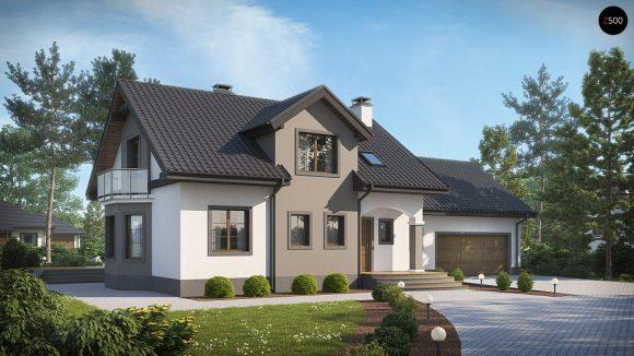 Фото проекта дома Z28 L GP2 вид с улицы
