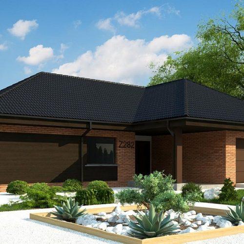Фото проекта дома Z282 вид 2