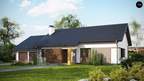Фото проекта дома Z287 GL2 вид с улицы