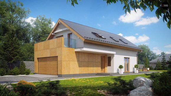 Фото проекта дома Z292 вид с улицы