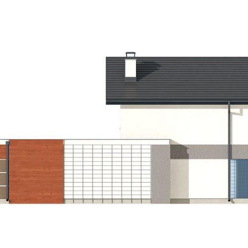 Фасад дома Z297 GF 2