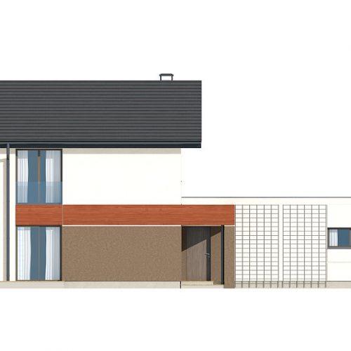 Фасад дома Z297 GF 4