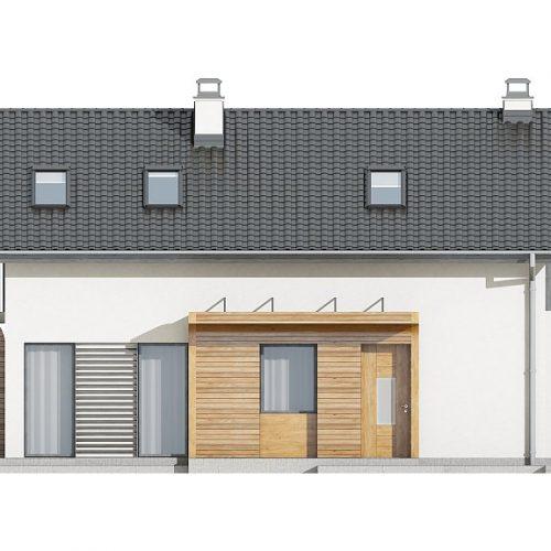 Фасад дома Z298 1