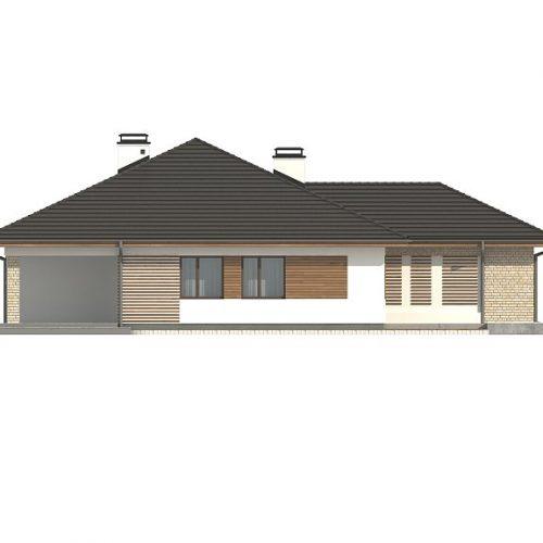 Фасад дома Z301 2