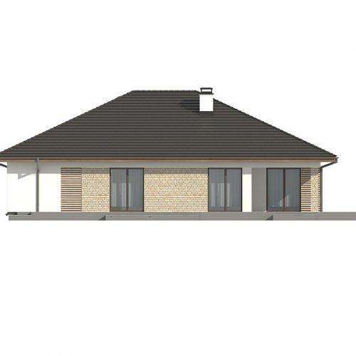 Фасад дома Z301 3