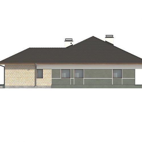 Фасад дома Z301 4