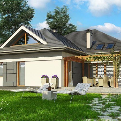 Фото проекта дома Z306 вид 2