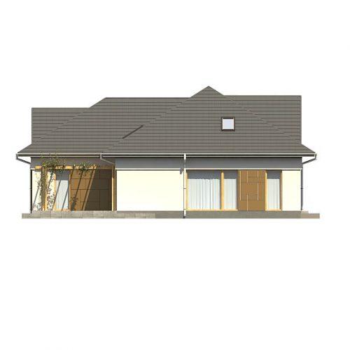 Фасад дома Z306 2