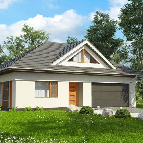 Фото проекта дома Z306 вид с улицы