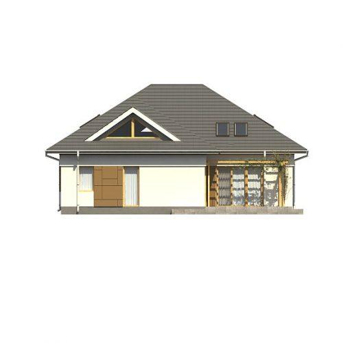 Фасад дома Z306 3