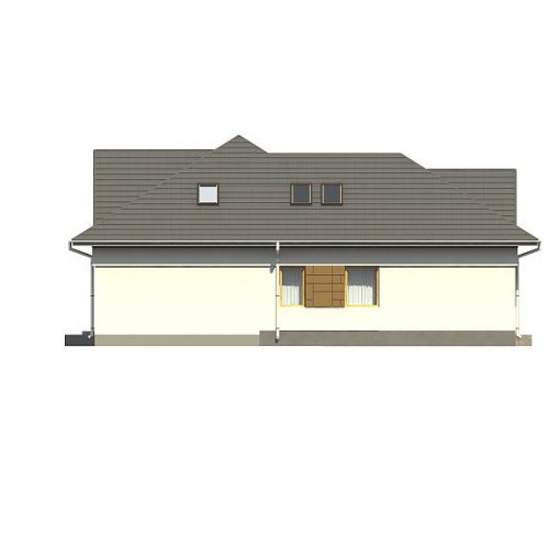 Фасад дома Z306 4