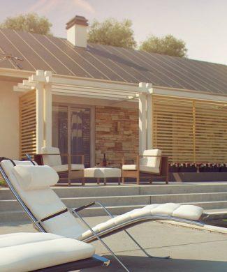 Фото проекта дома Z309 вид с улицы
