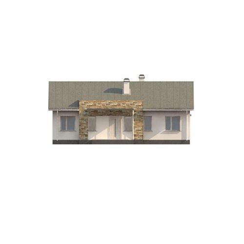 Фасад дома Z309 1
