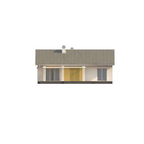 Фасад дома Z309 4