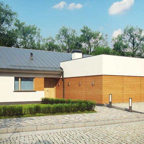 Фото проекта дома Z312 вид с улицы