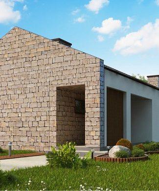 Фото проекта дома Z314 bg вид с улицы