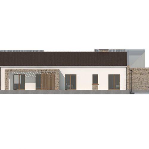 Фасад дома Z314 bg 2