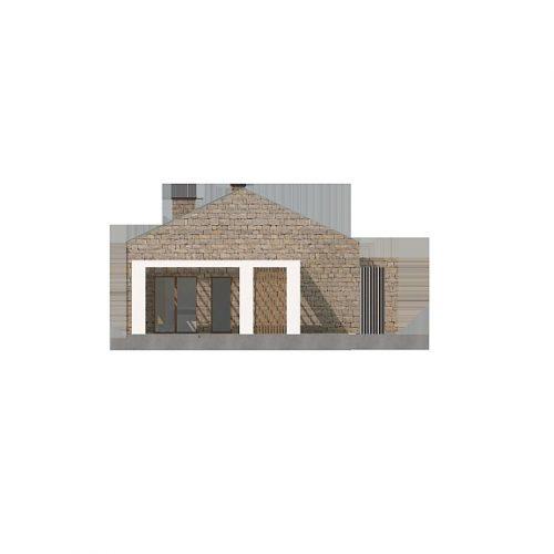 Фасад дома Z314 bg 3