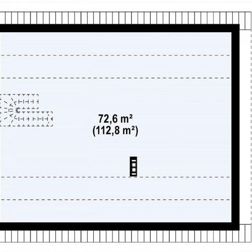 План второго этажа проекта Z316