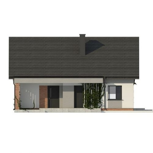 Фасад дома Z316 1