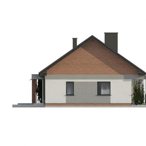 Фасад дома Z316 3