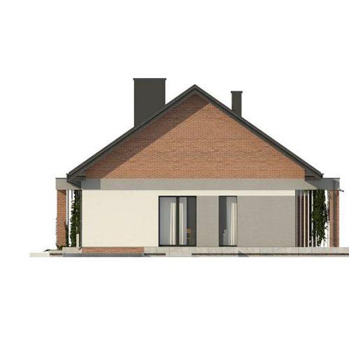 Фасад дома Z316 4