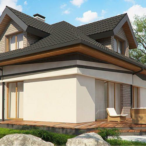 Фото проекта дома Z325 вид 2