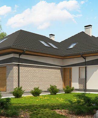 Фото проекта дома Z325 вид с улицы