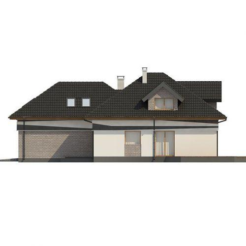 Фасад дома Z325 2