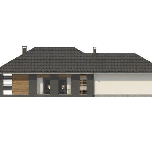Фасад дома Z327 2